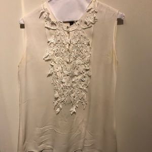 Marchese Voyage off white blouse